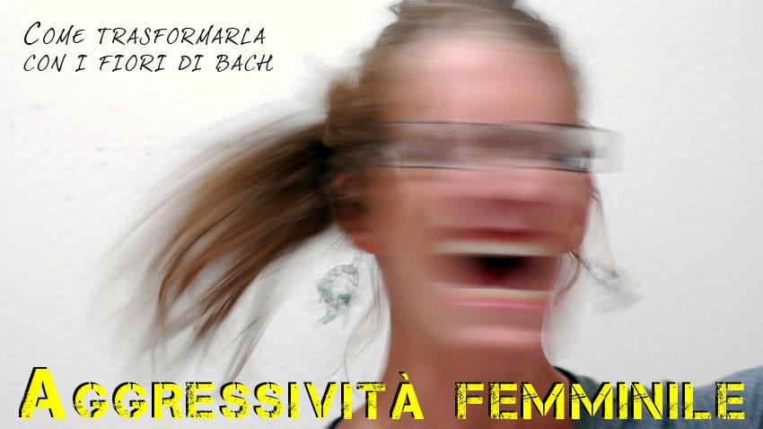 Aggressività femminile: come trasformarla con i fiori di Bach