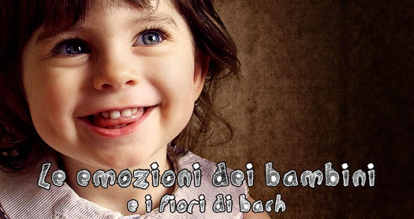 Emozioni dei bambini: comprenderle e gestirle con i fiori di Bach