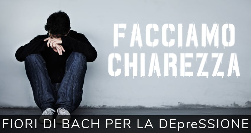 Fiori di Bach per la depressione