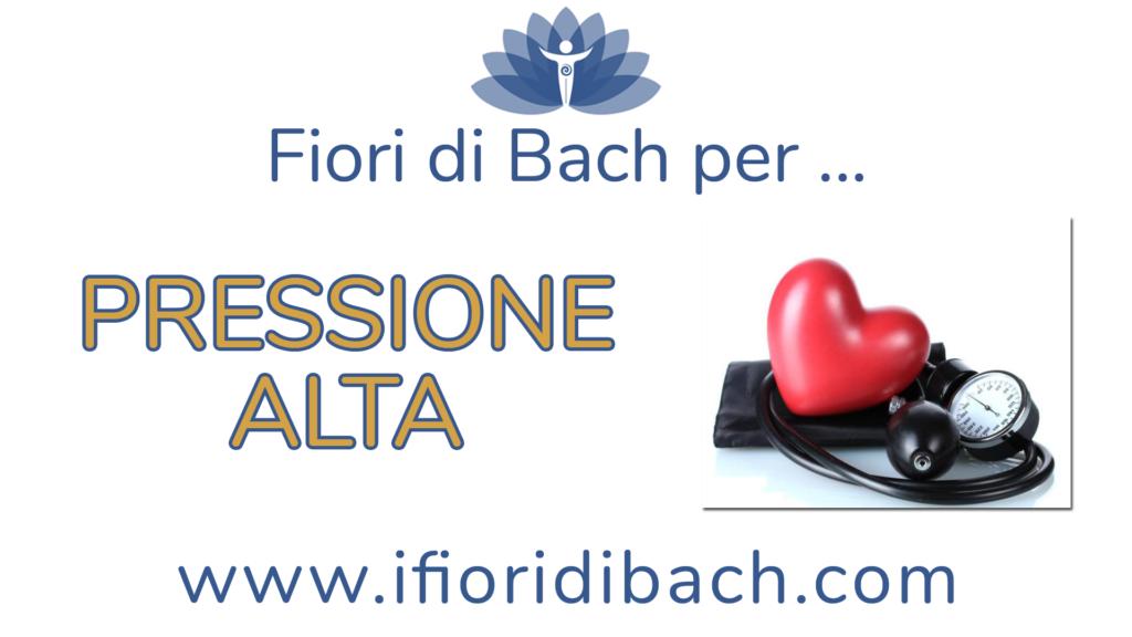 Fiori di Bach per la pressione alta