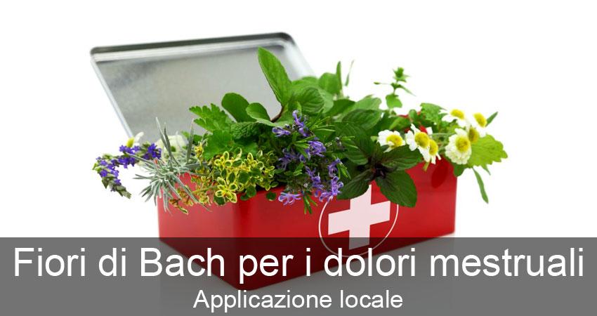 Fiori di Bach per Dolori Mestruali: Applicazione Locale e Utilizzo Transpersonale