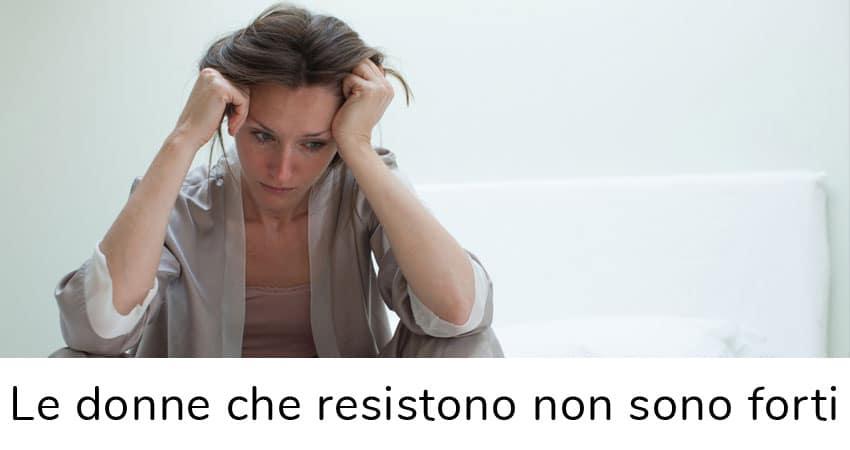 le donne che resistono