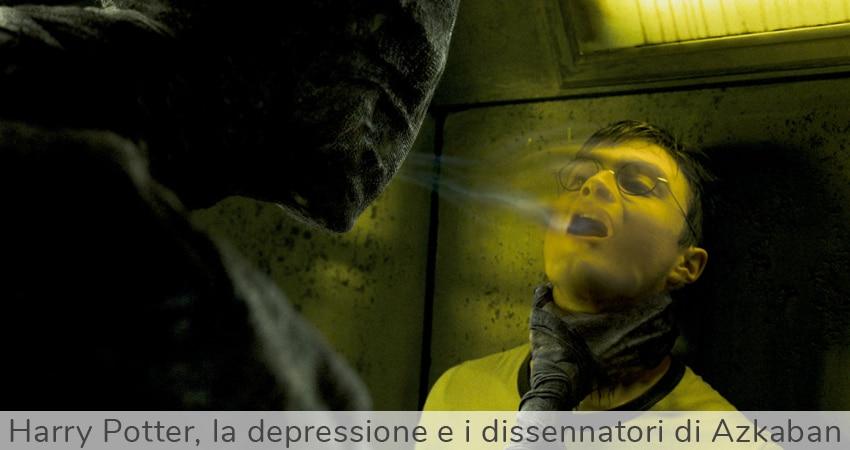 Harry Potter, la depressione e i dissennatori di Azkaban