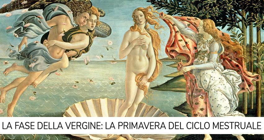 fase della vergine ciclo mestruale