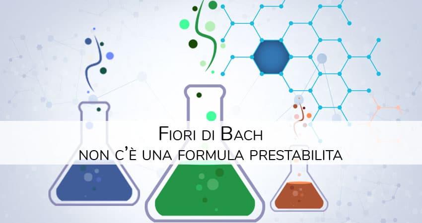 Fiori di Bach: non c'è una formula prestabilita