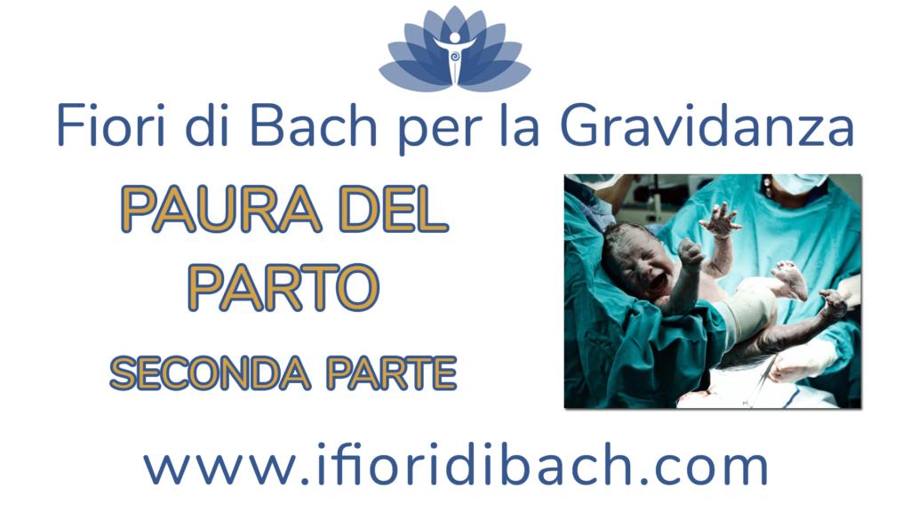 Fiori di Bach per la paura del parto