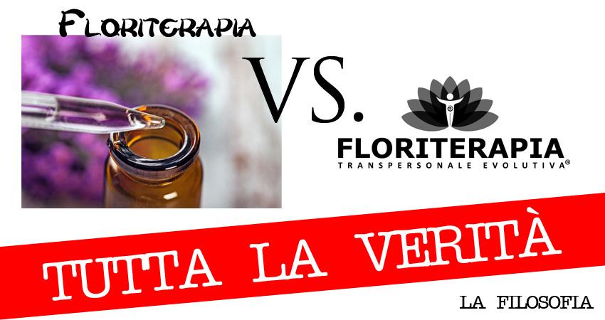 Floriterapia VS. Floriterapia Transpersonale Evolutiva®