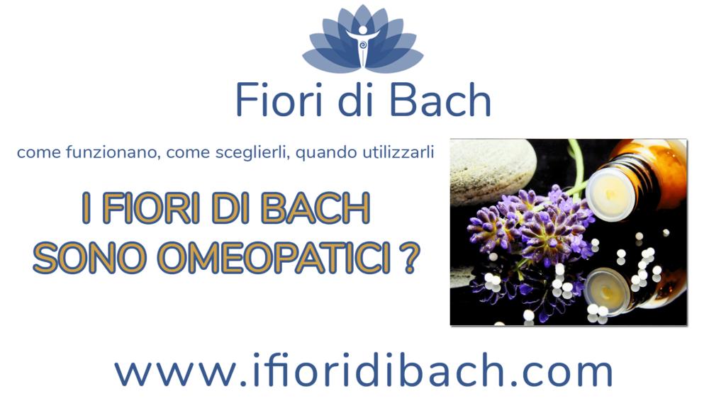 I fiori di Bach sono rimedi omeopatici?