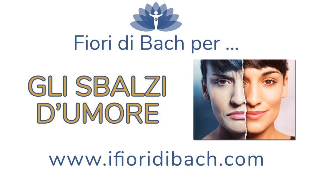 Fiori di Bach per gli sbalzi d'umore
